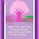 Laugh A Little by June Holbrook