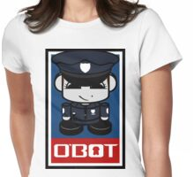 Police Hero'bot 2.1 Womens Fitted T-Shirt