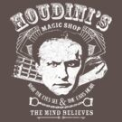 Houdini's Magic Shop (White) by Gingerbredmanny