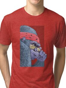 Swinger - Dark Background Tri-blend T-Shirt