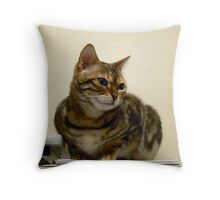 Office manager? Throw Pillow