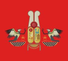 Ramesses the Great's Cartouches with adoring Rekhyt Birds Kids Clothes