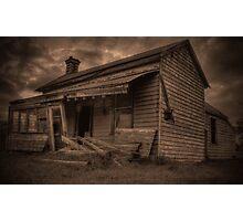 Bellarine Ruin Photographic Print