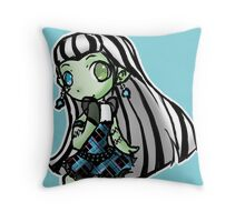 Monster High: Chibi Frankie Throw Pillow