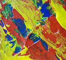 Primary Abstract by Holly Cannell by hollycannell