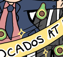 Avocados at Law Sticker