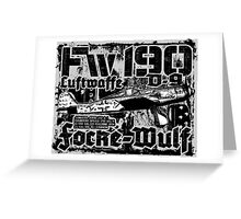 Fw 190 D-9 Greeting Card