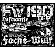 Fw 190 D-9 Photographic Print