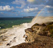 Sea Spray Rainbow by Jason Ruth
