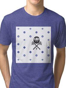 Wish and Work Pattern Tri-blend T-Shirt
