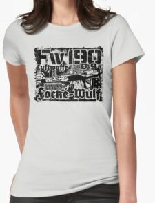 Fw 190 D-9 Womens Fitted T-Shirt