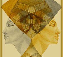 Egyptian series -Nefertiti reigns suprem  by Marilyns
