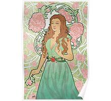 Rose Nouveau Poster