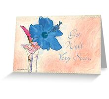 Feeling A Little Blue? Greeting Card