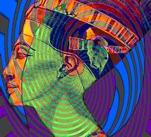 Egyptian series- Nefertiti vibes  by Marilyns