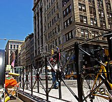 Bubble Man on Broadway Avenue., New York by coralZ