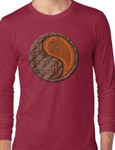 Capricorn & Tiger Yang Wood Long Sleeve T-Shirt