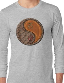 Capricorn & Tiger Yang Wood Long Sleeve T-Shirt