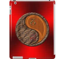 Capricorn & Tiger Yang Wood iPad Case/Skin