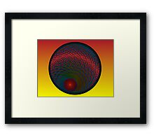 Sun Setter Framed Print