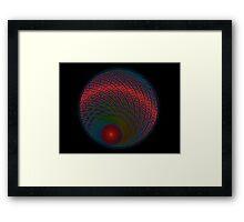Sun Setter (Black) Framed Print