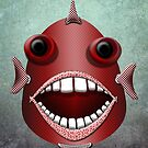 The Metal Aquarium  Giant Sea Bass by KOKOPEDAL