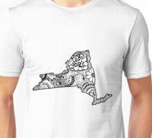 Hipster New York Outline Unisex T-Shirt