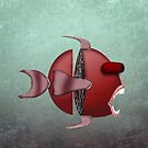 The Metal Aquarium Profile Giant Sea Bass by KOKOPEDAL