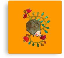 Arthur the hegdehog Canvas Print