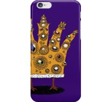 King of What, Queen of Bling iPhone Case/Skin
