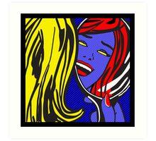 Mystique Pop Art Art Print