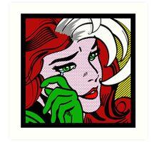 Rogue Pop Art Art Print