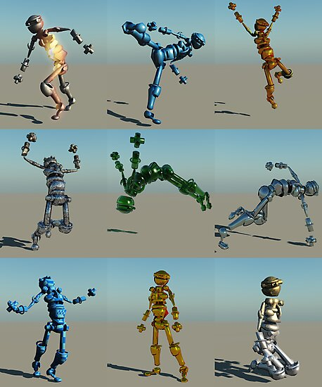 Robot Screen Test by Syd Baker