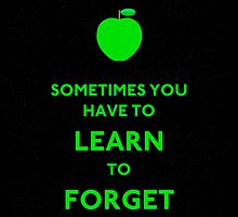 Forget - Sometimes You Have To Learn by Lee-Daniell Harris