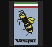Vespa Wasp poster by Roydon Johnson