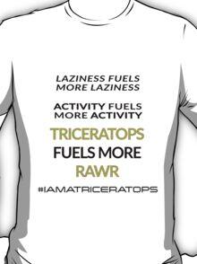 Triceratops Fuels RAWR T-Shirt