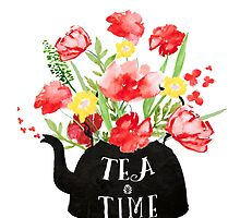 Tea time by Ilze Lucero