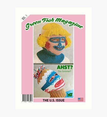 Green Fish Mag Vol. 1 Art Print