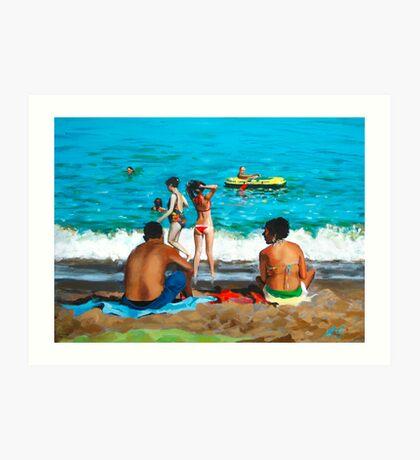 Costa del Sol Art Print