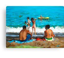 Costa del Sol Canvas Print