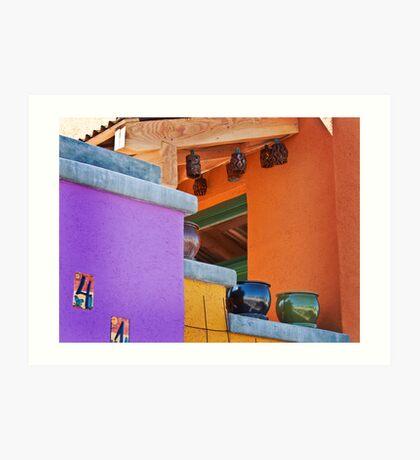 Multi-Colored House Art Print