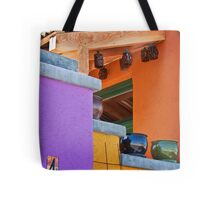Multi-Colored House Tote Bag