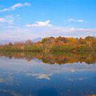 Fall At The Lake by Ginny York