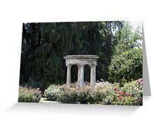 Roman Garden Greeting Card