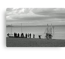 Launch Day II Canvas Print