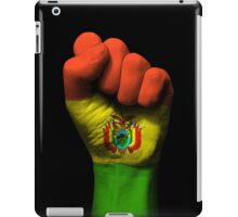 Flag of Bolivia on a Raised Clenched Fist  iPad Case/Skin