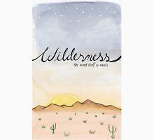 """Wilderness"" Watercolor Print Unisex T-Shirt"