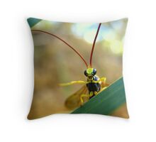 Shoo! Throw Pillow