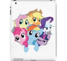 Mane Six Break Out! iPad Case/Skin