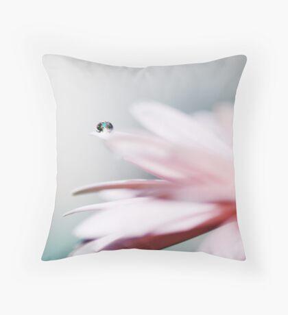 Whispery Light Throw Pillow